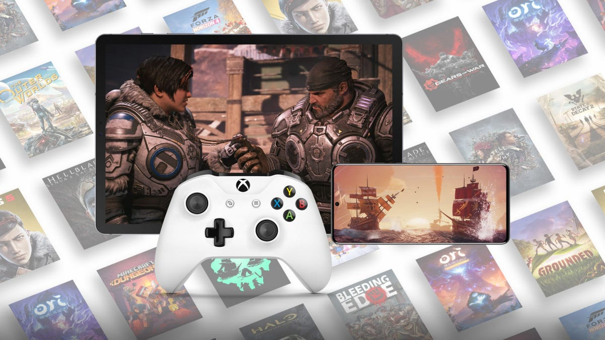 Game Pass streaming on phones and tablets