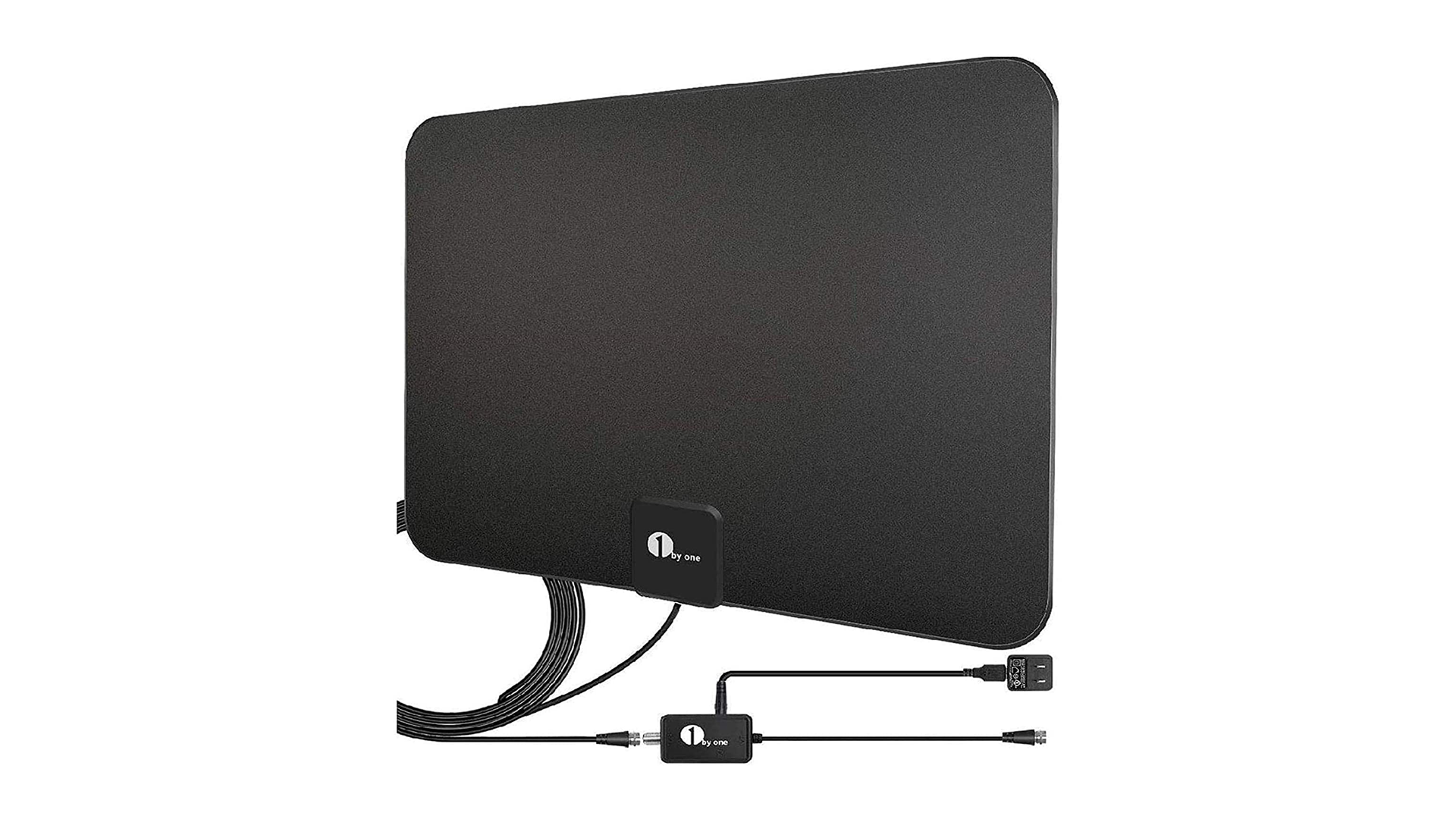 A photo of the 1 By One indoor digital antenna.