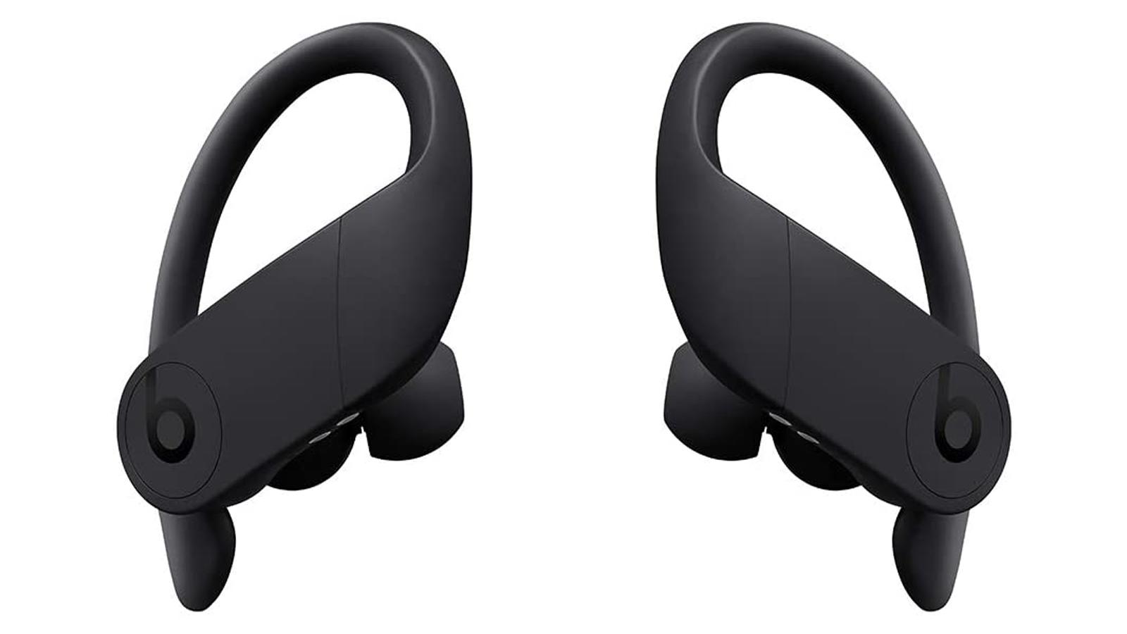 PowerBeats Pro earbuds in black