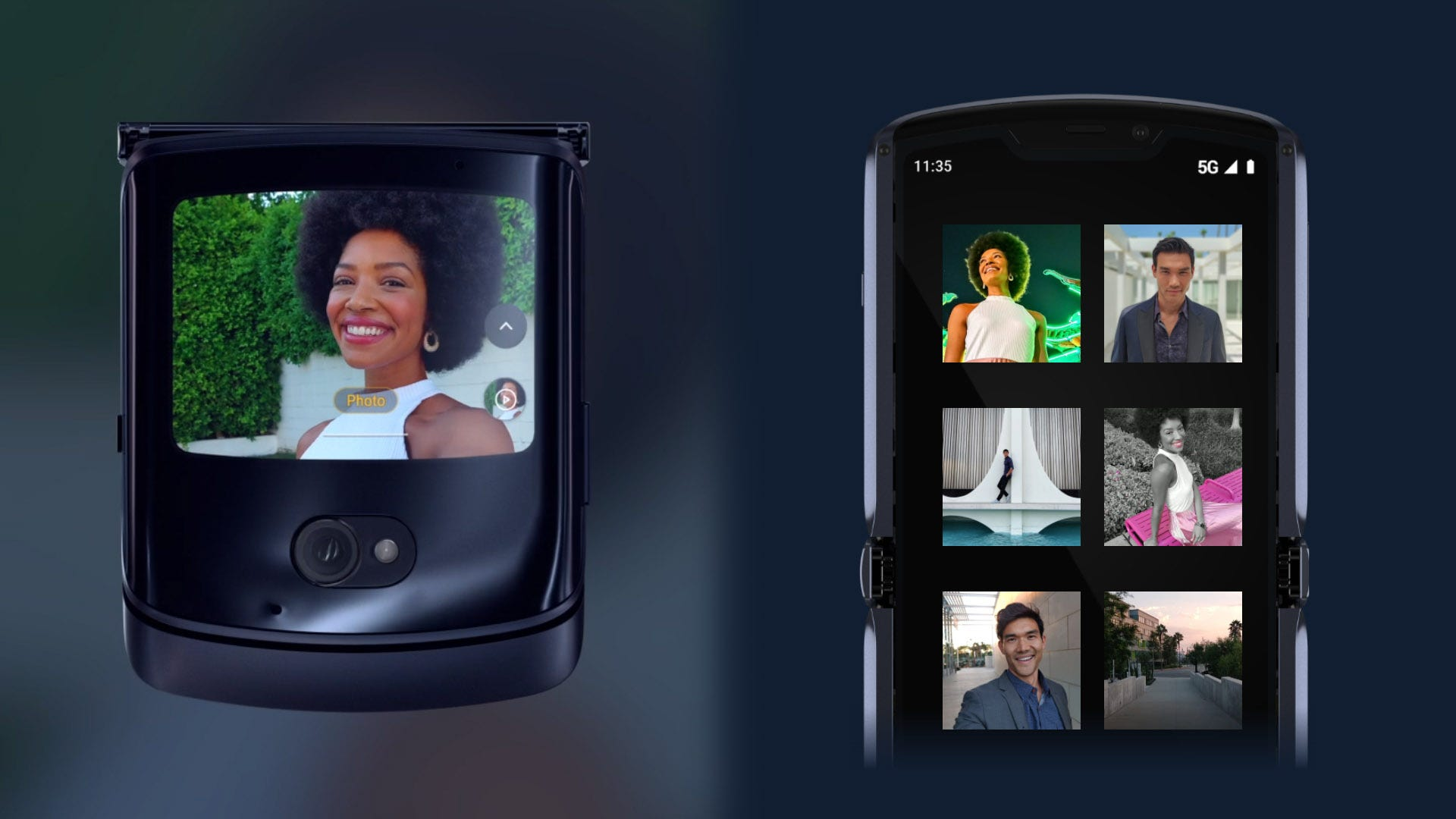 Razr foldable phone