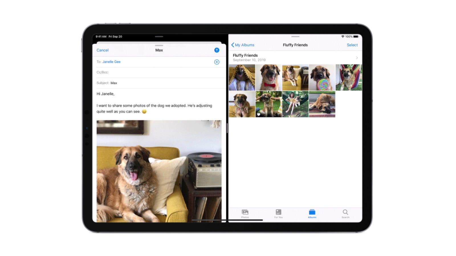Splt-view on iPad
