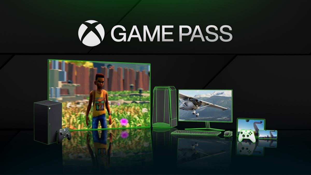 Xbox Game Pass promotional image