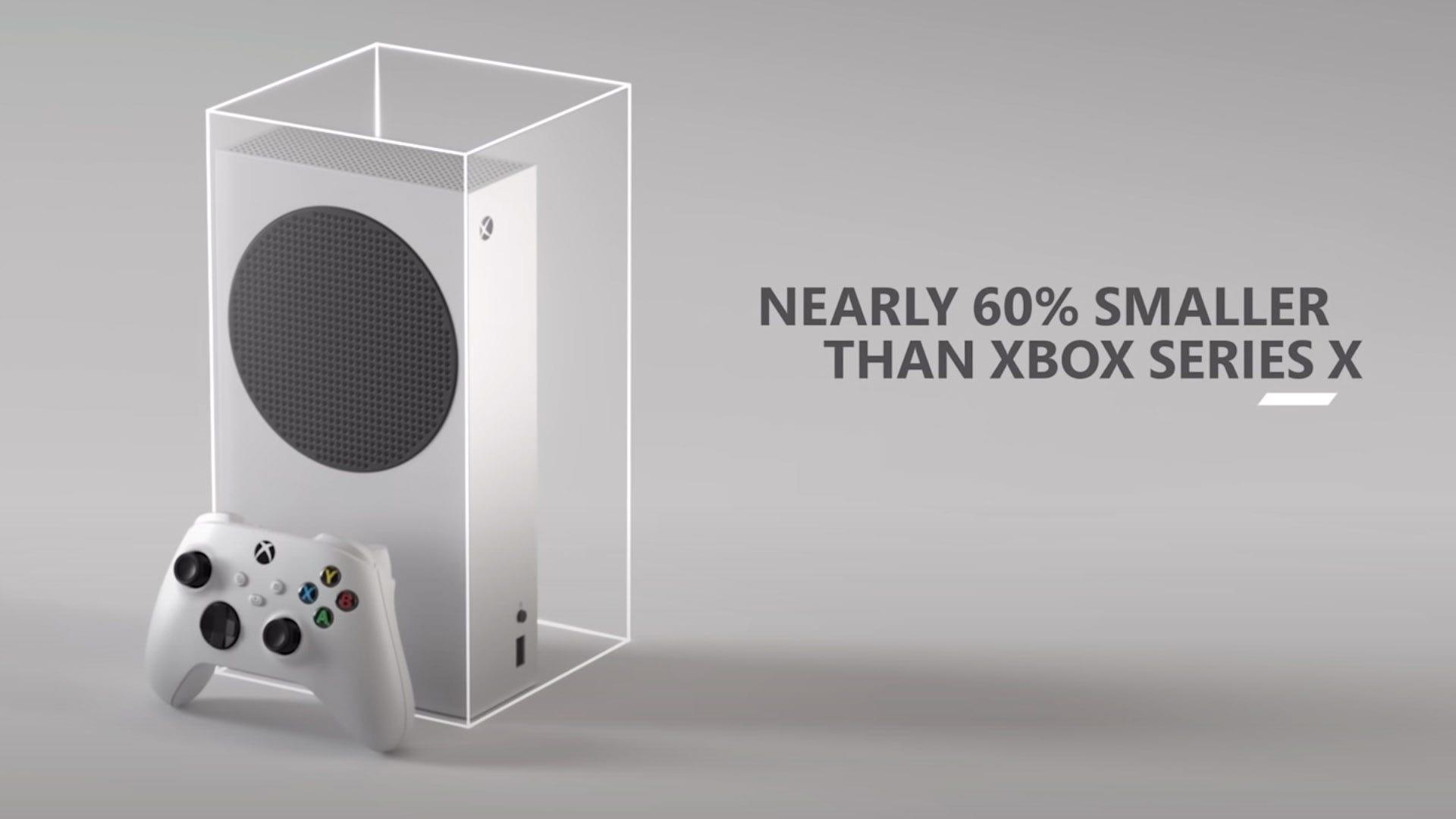 Xbox Series S Size comparison