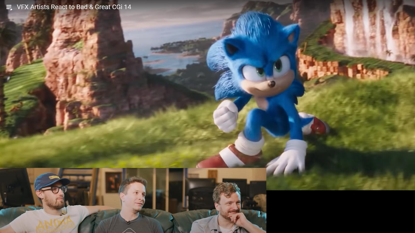 The Corridor Crew reacting to CGI scenes in movies