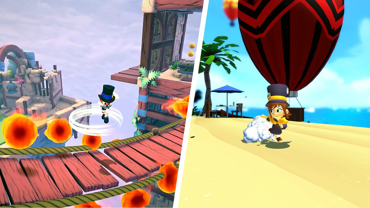 New Super Lucky's Tale and A Hat in Time