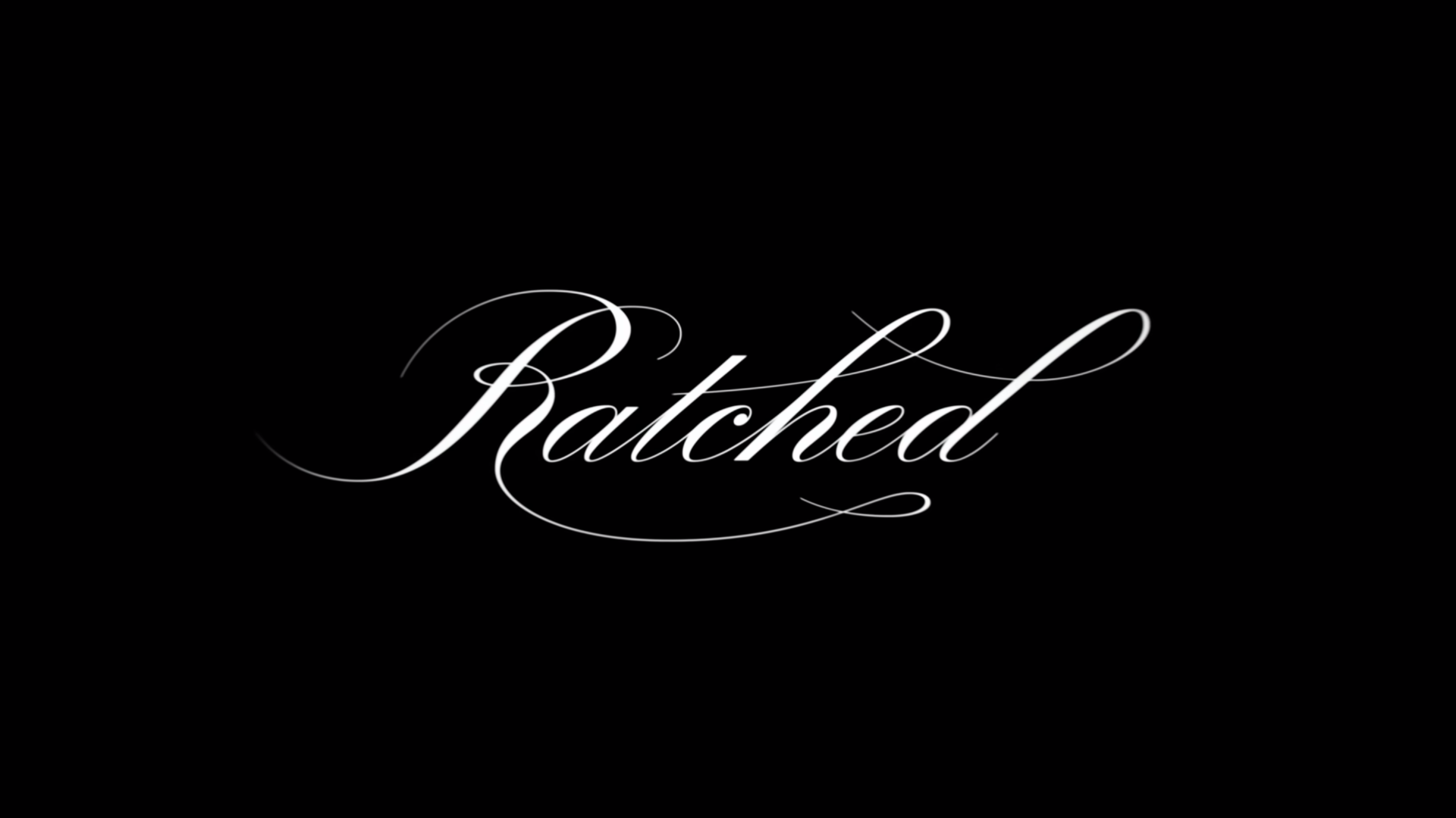 """The """"Ratched"""" logo"""