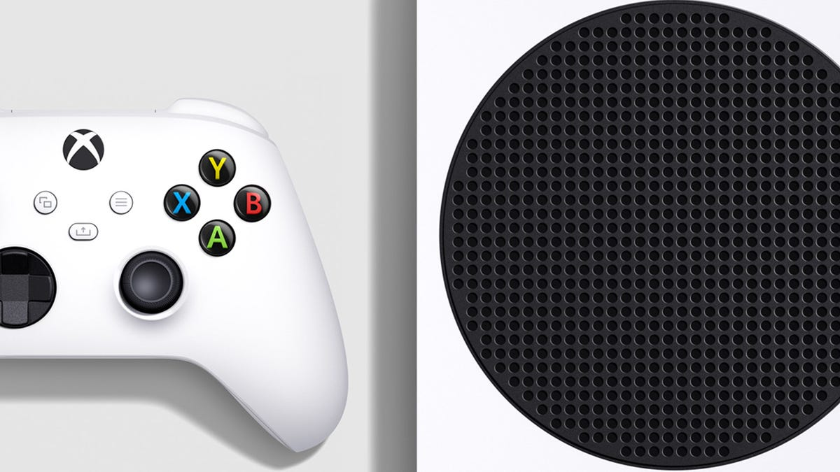 Xbox Series S and controller