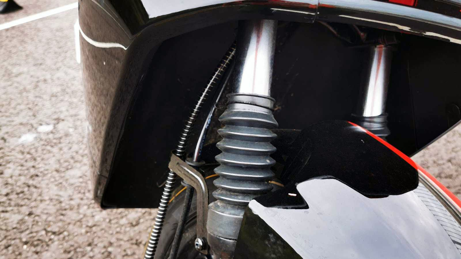 niu scooter front shocks