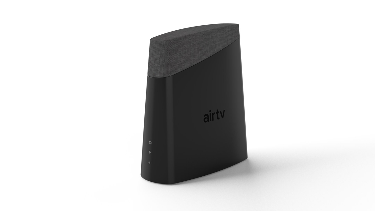 A photo of the AirTV Anywhere OTA streaming box with DVR functionality.