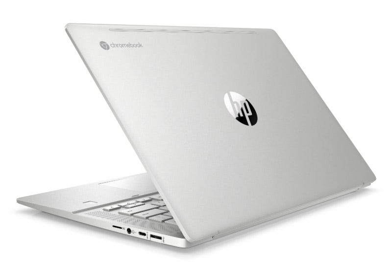 HP Chromebook Pro C645 (rear)