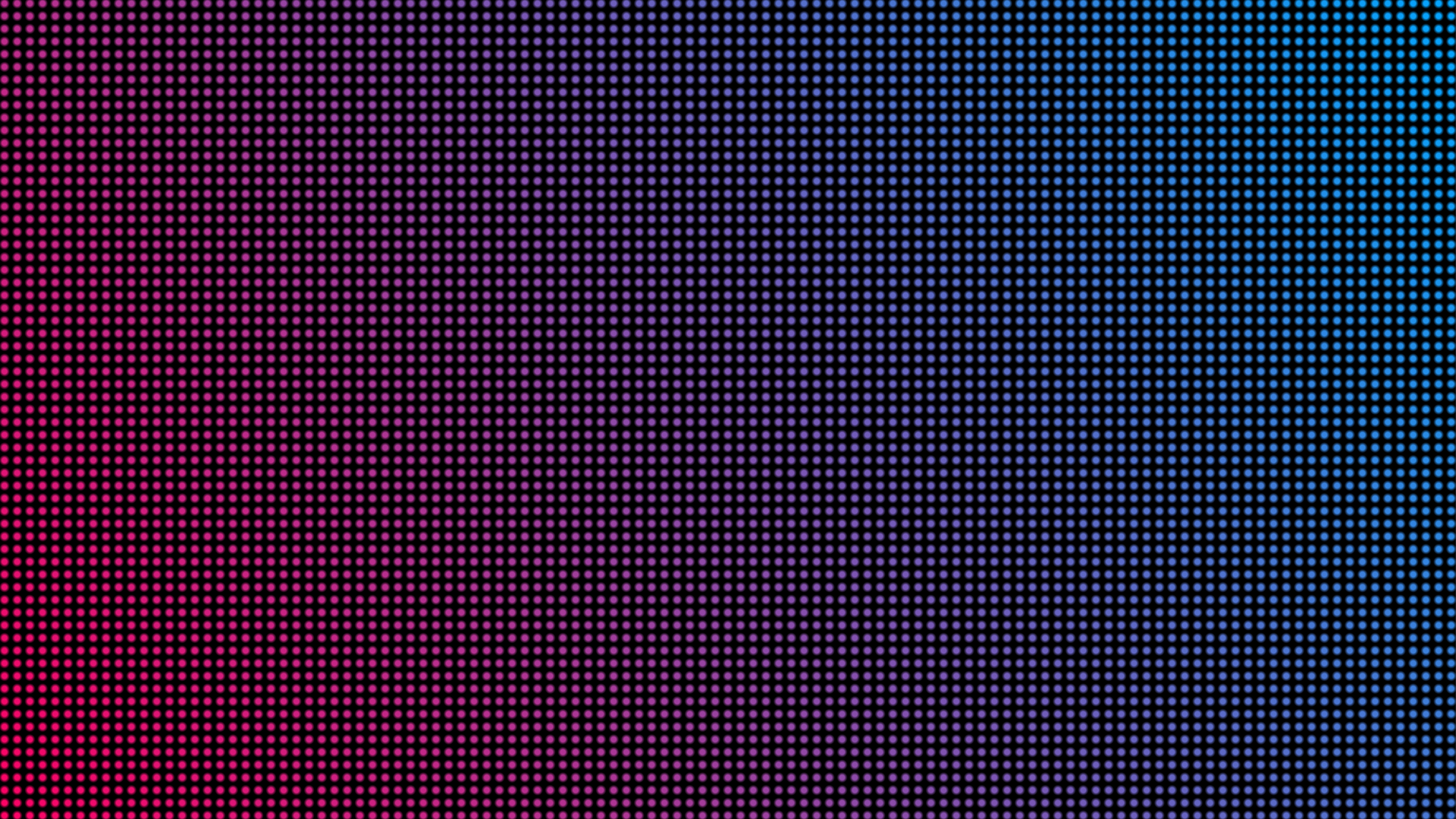 "An image demonstrating the ""screen door"" effect with purple and blue hues"