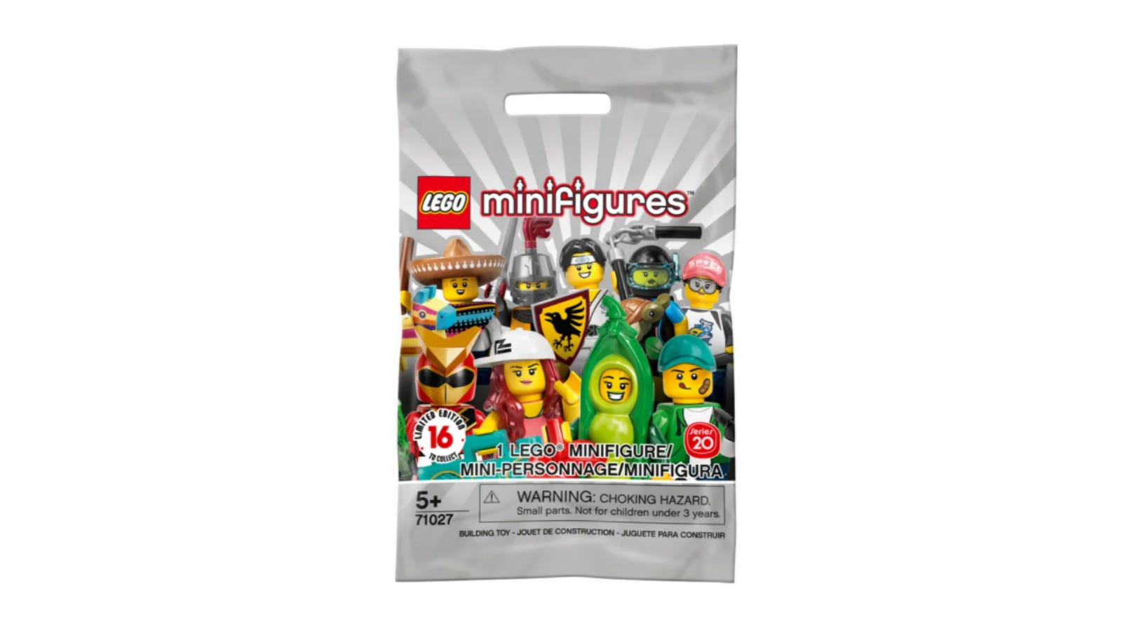 LEGO Random Minifigures Bag Series 20