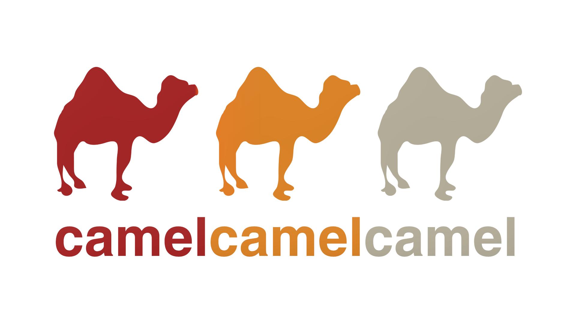 The camelcamelcamel logo.