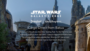 You Can Now Buy Merch from 'Star Wars:' Galaxy's Edge Online