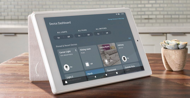 Some Amazon Fire Tablets Now Feature a Smart Home Device Dashboard