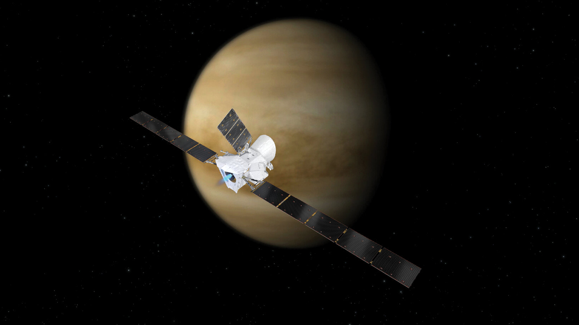 The BepiColumbo Spacecraft Just Used Venus to Slow its Journey to Mercury