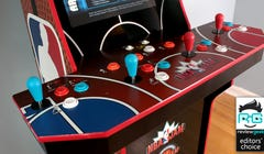 The 'NBA Jam' Arcade Cabinet Proves Arcade1Up Is (Almost) on Fire
