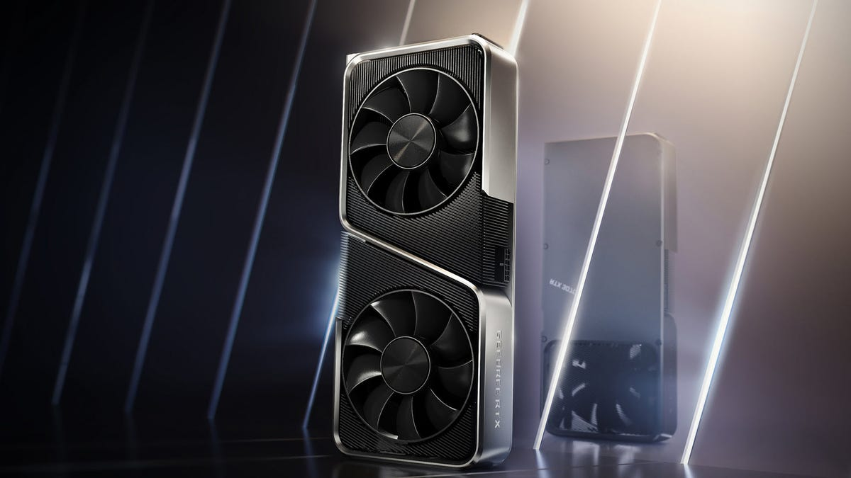 A NVIDIA GeForce RTX 3070 graphics card in front of a stark background.