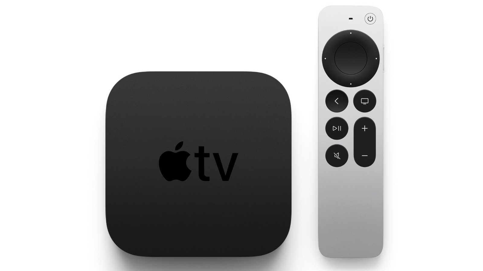 Apple-TV 4K and remote