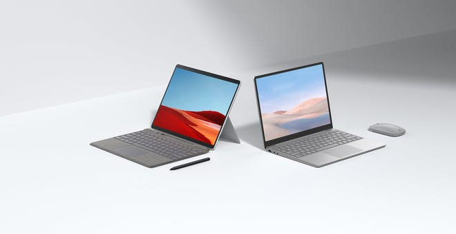 Microsoft Adds a $549 Surface Laptop Go and Updated Surface Pro X to Its Lineup