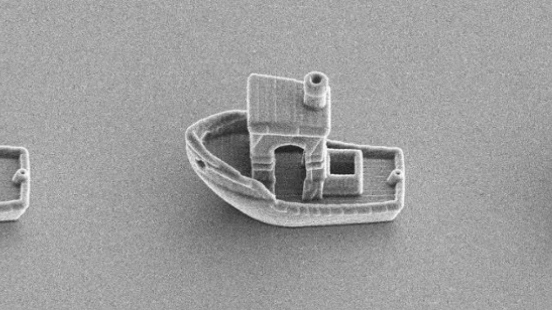 This 3D Printed Boat Is Smaller Than a Single Human Hair thumbnail
