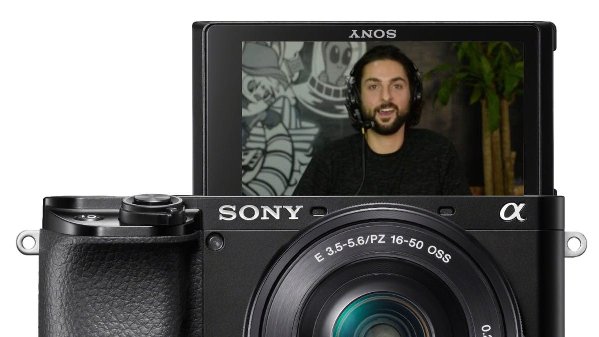 Sony Alpha 6100 webcam