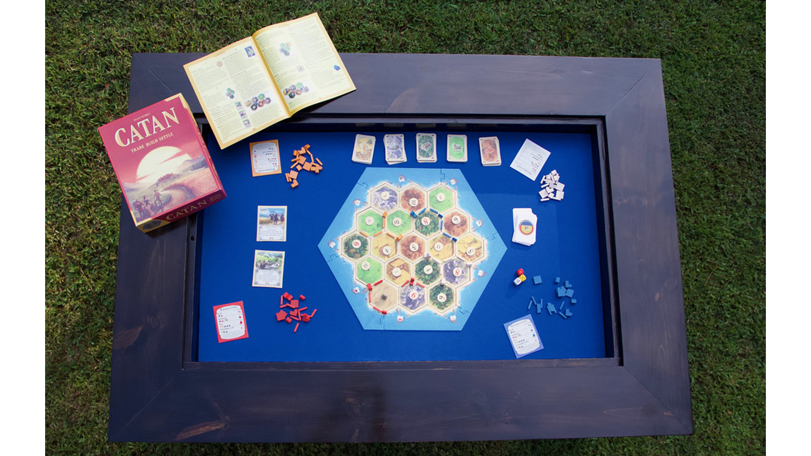 Tables 4 Games Standard with Wide Edge table