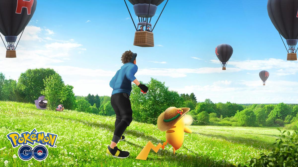 Pokemon GO mobile AR game