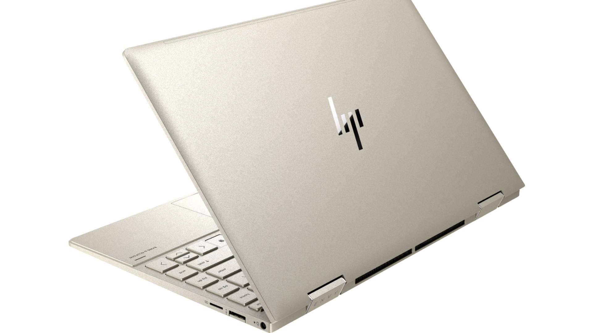 The HP Envy x360 2-in-1 laptop.