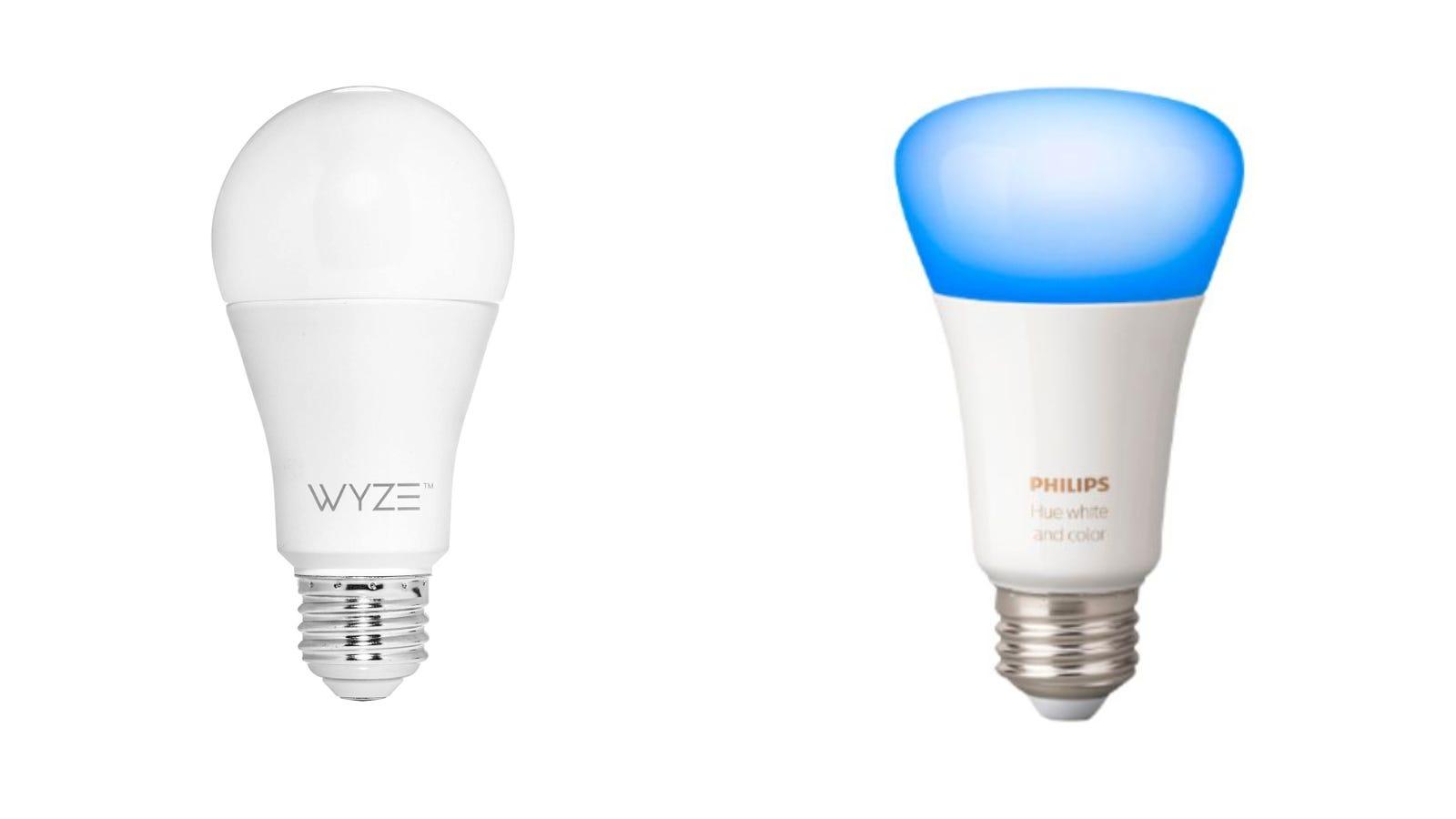 Wyze Bulbs and Phillips Hue