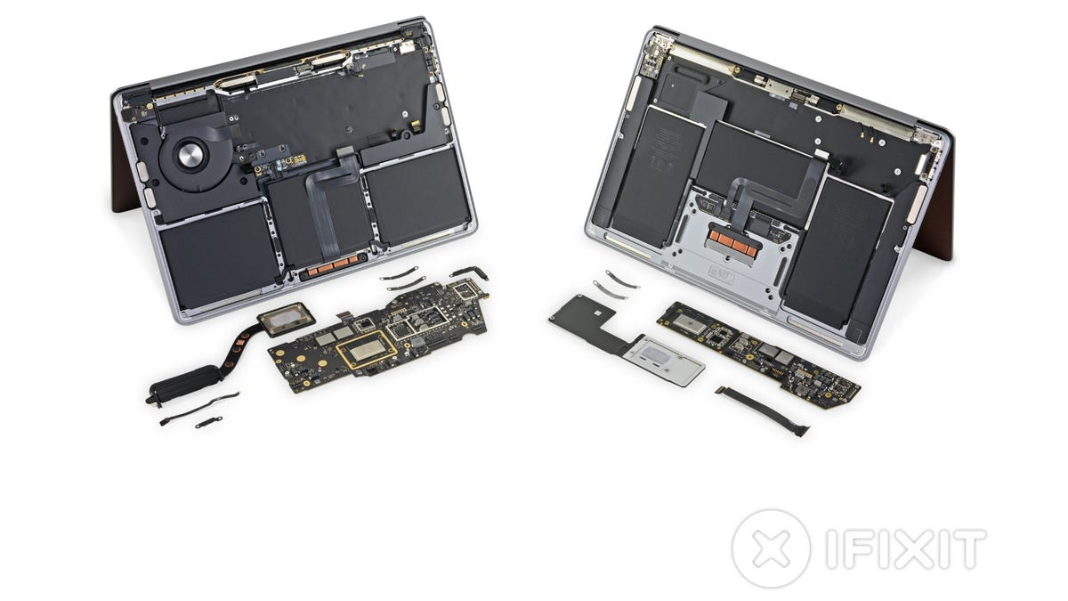 iFixit M1 MacBook Air and Pro teardown