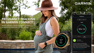 Pregnancy Tracking Is Coming to Garmin Watches