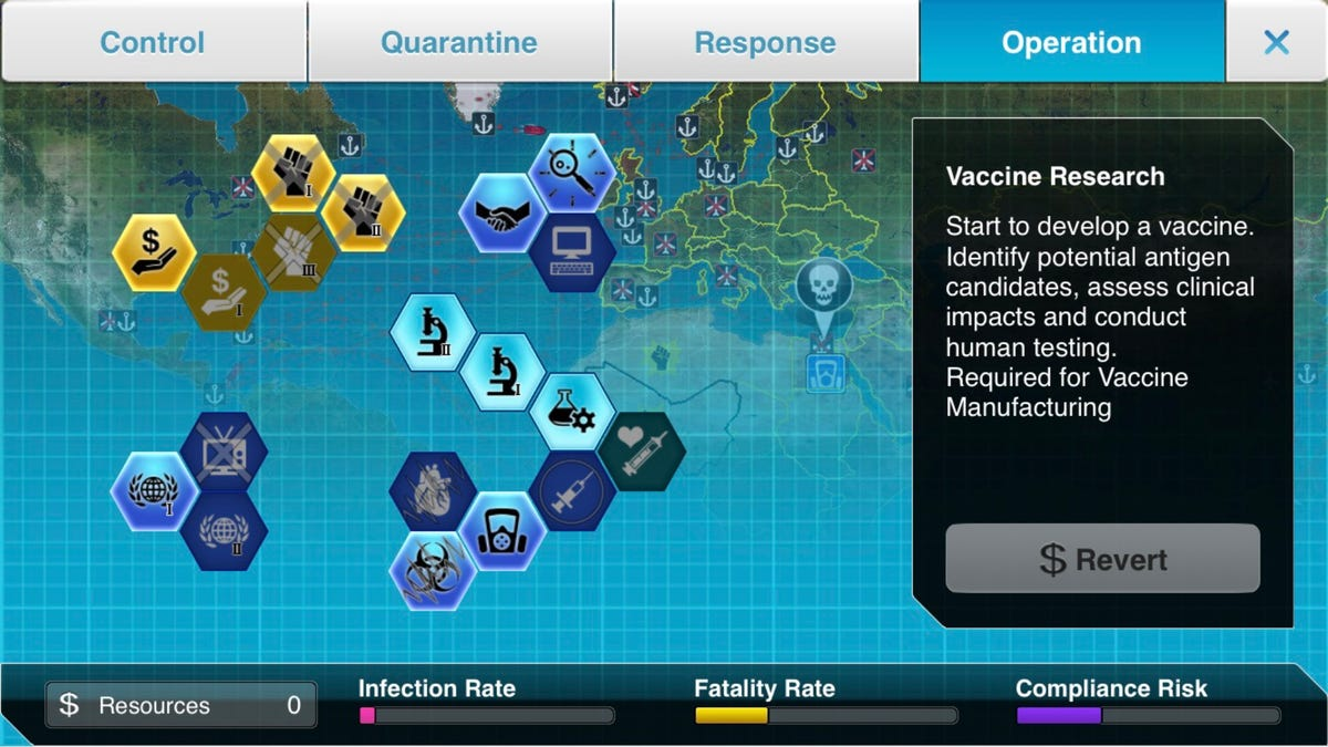 Plague Inc: The Cure game