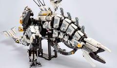 I Spent $200 on Fake LEGO to Make the Robot T-Rex from 'Horizon: Zero Dawn'
