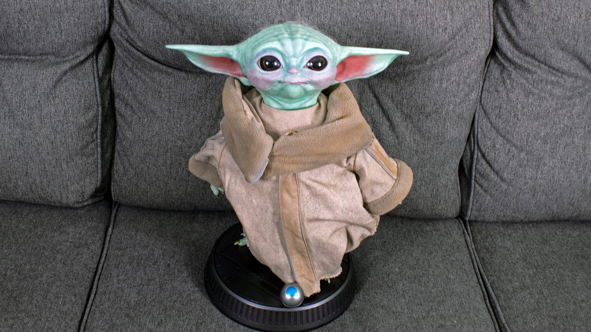 I Spent $350 on a Life-Sized Baby Yoda Replica and I Ain't Even Mad