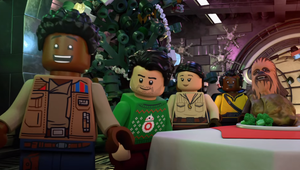 Star Wars Builds a New 'Holiday Special' out of LEGO, Sticks it on Disney+