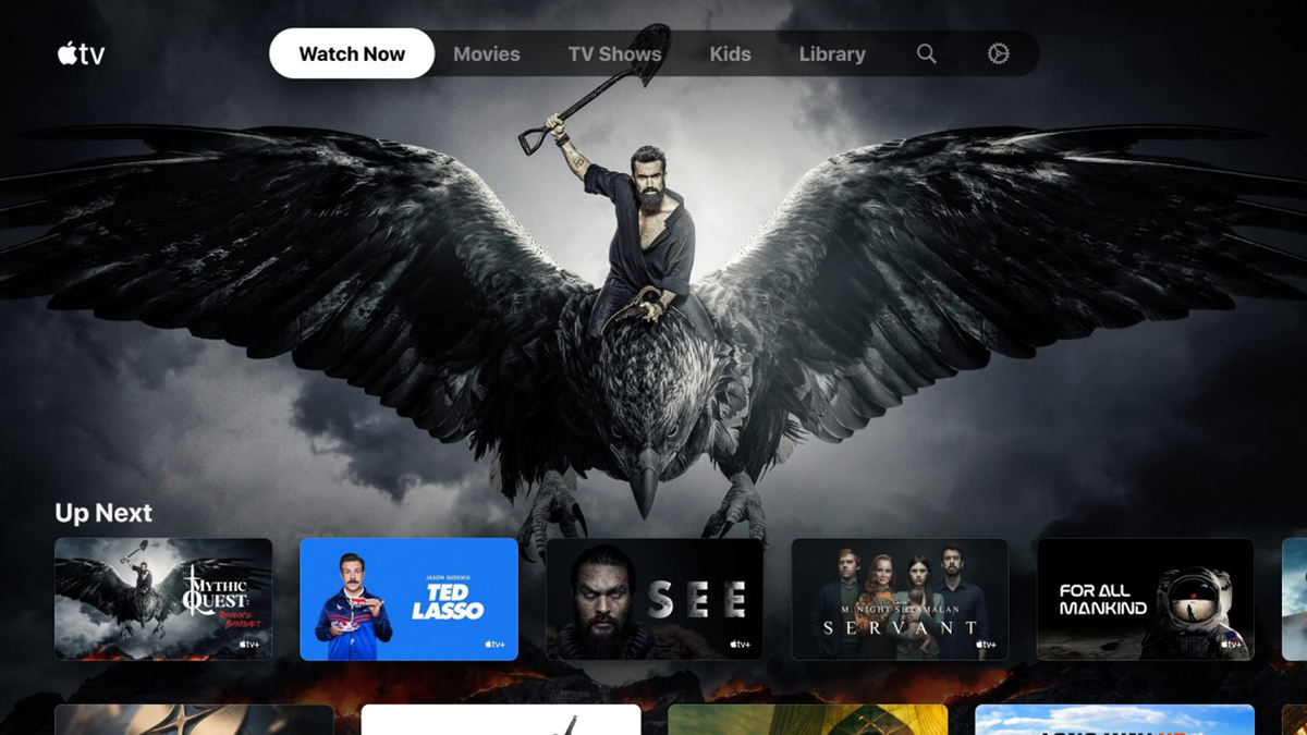 Apple TV app on new Xbox Series X and S
