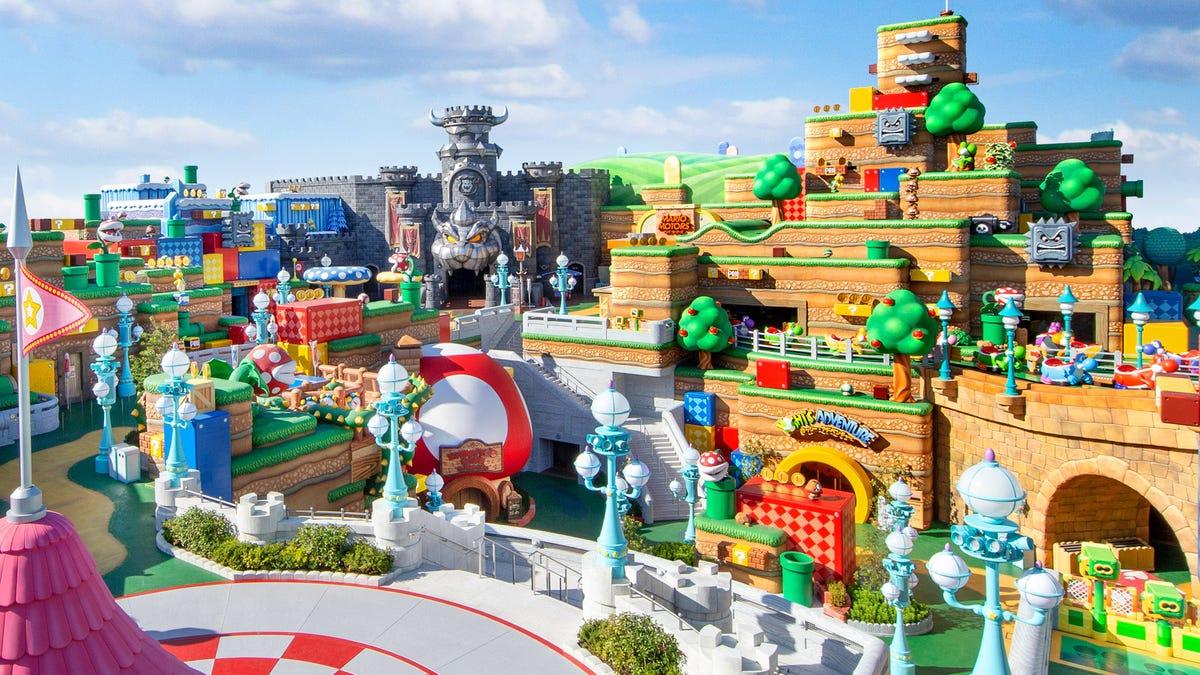 Super Nintendo World in Universal Studios, Japan