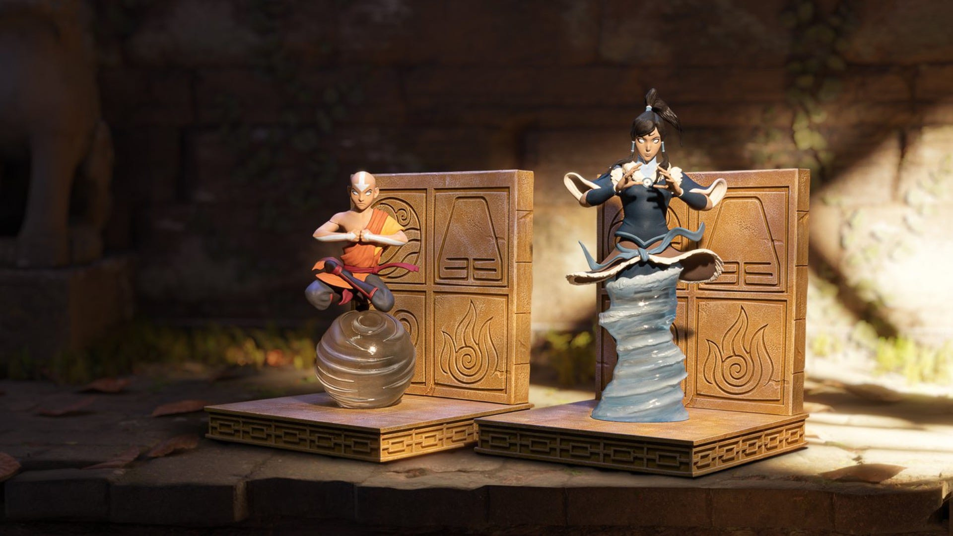 Awaken Your Avatar State With These Korra and Aang Bookends