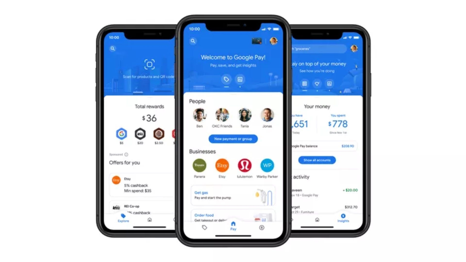 Overview of Google Pay app