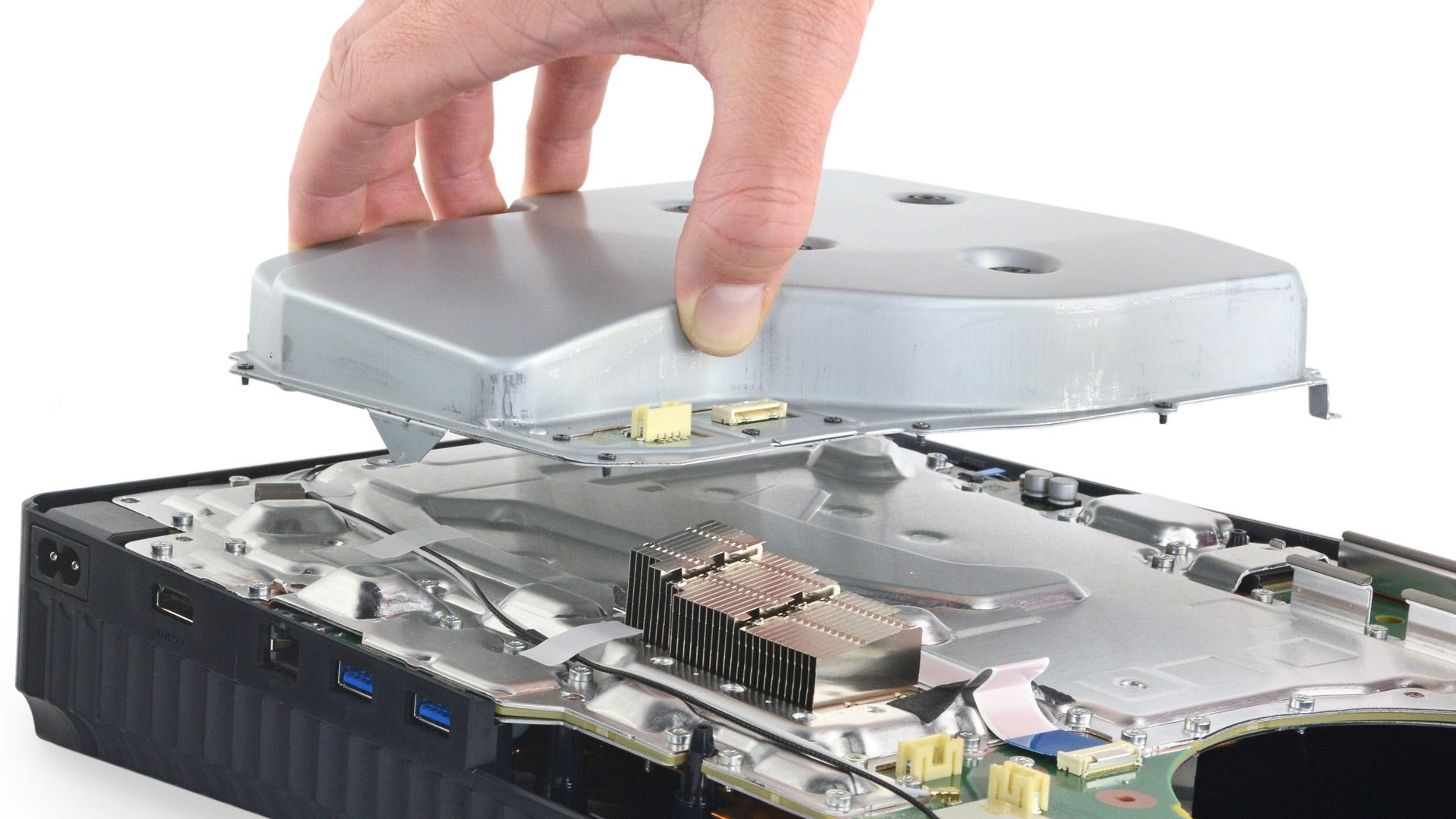 iFixit teardown of the PS5: disc drive