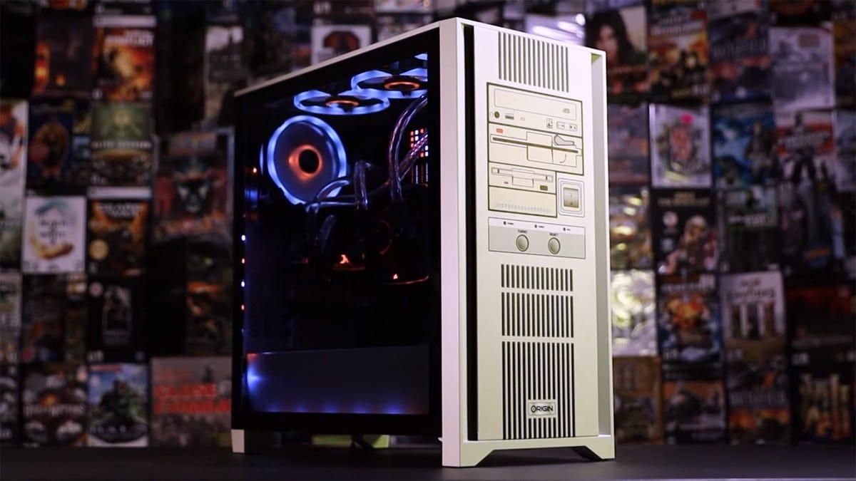 Resto-Mod Origin desktop gaming PC