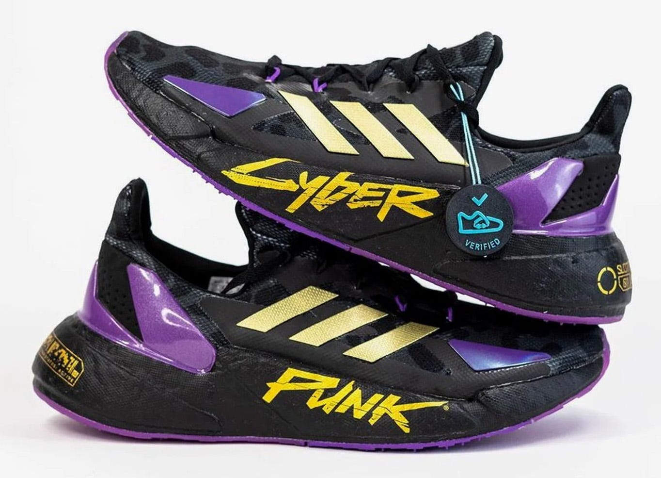 Cyberpunk sneakers from Adidas