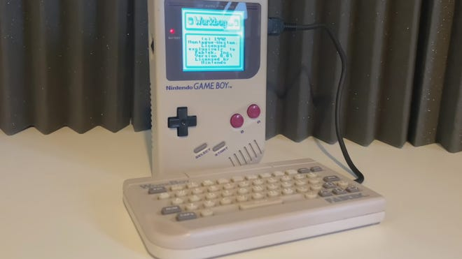 """The Original Game Boy's Long-Lost """"WorkBoy"""" Keyboard Discovered and Revived"""