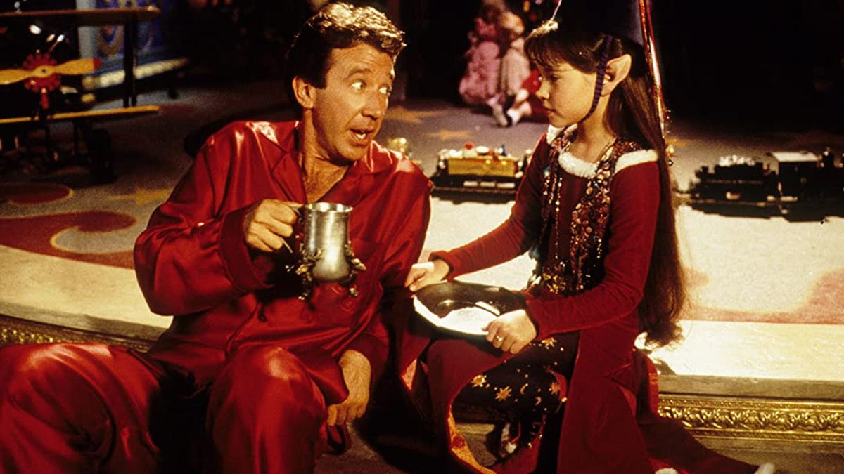Tim Allen and Paige Tamada in 'The Santa Clause'