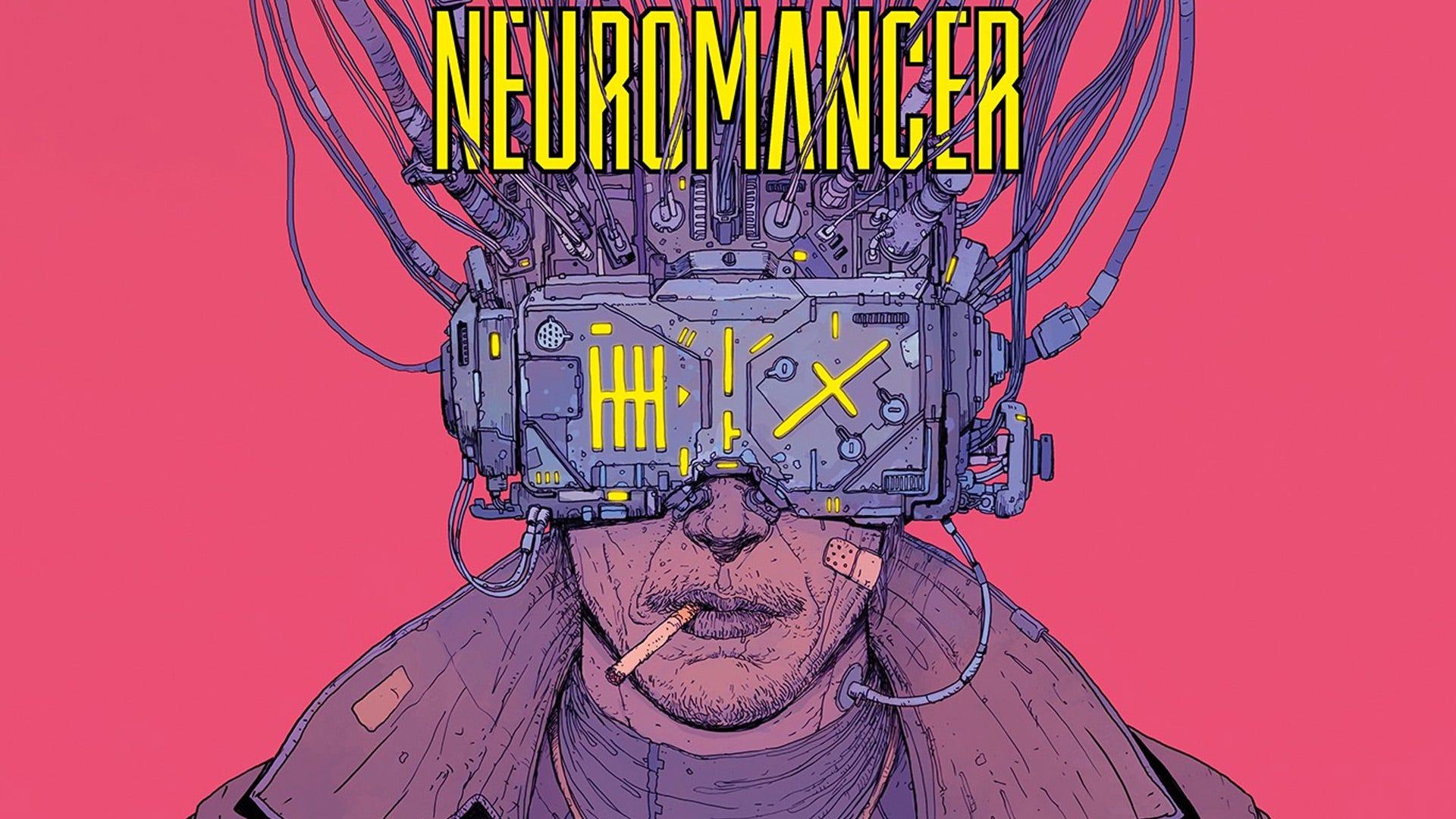 Neuromancer cover art, Brazilian edition