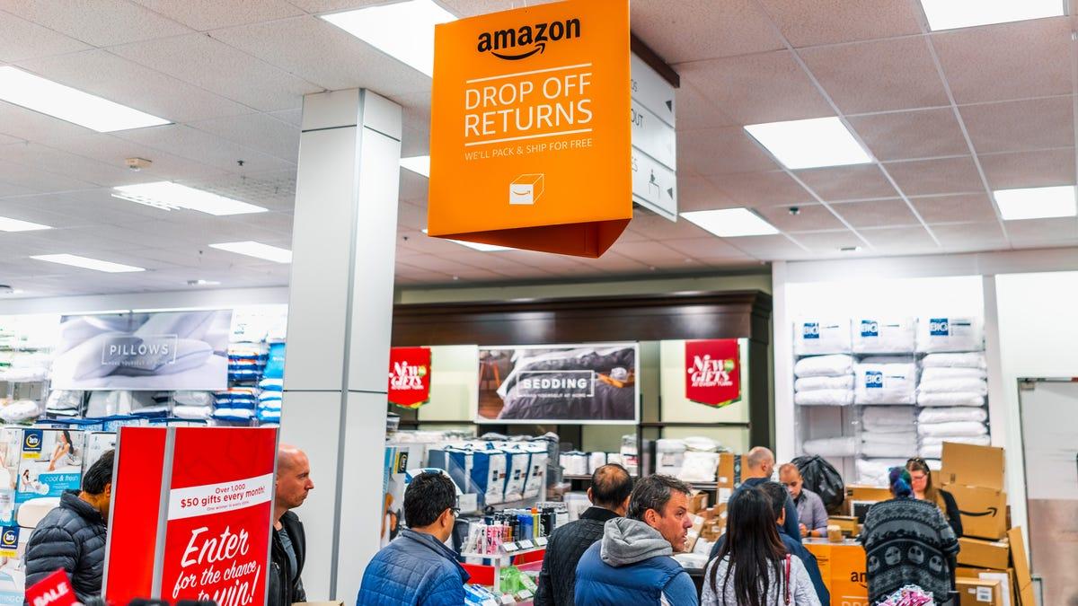 Kohl's Amazon Return Desk