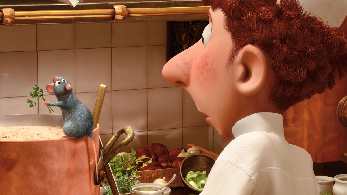 A still from the movie 'Ratatouille.'