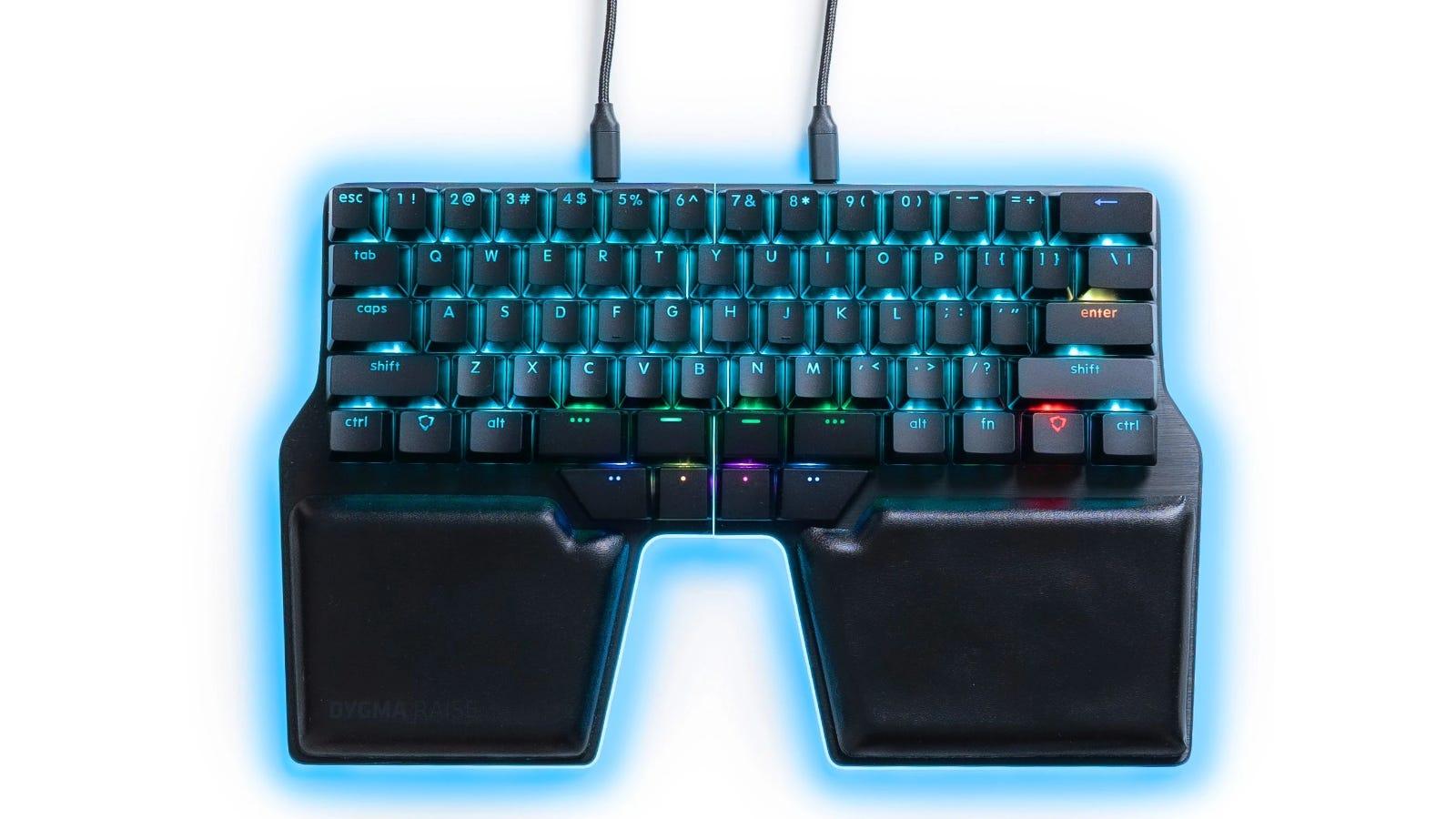 Dygma Raise split keyboard