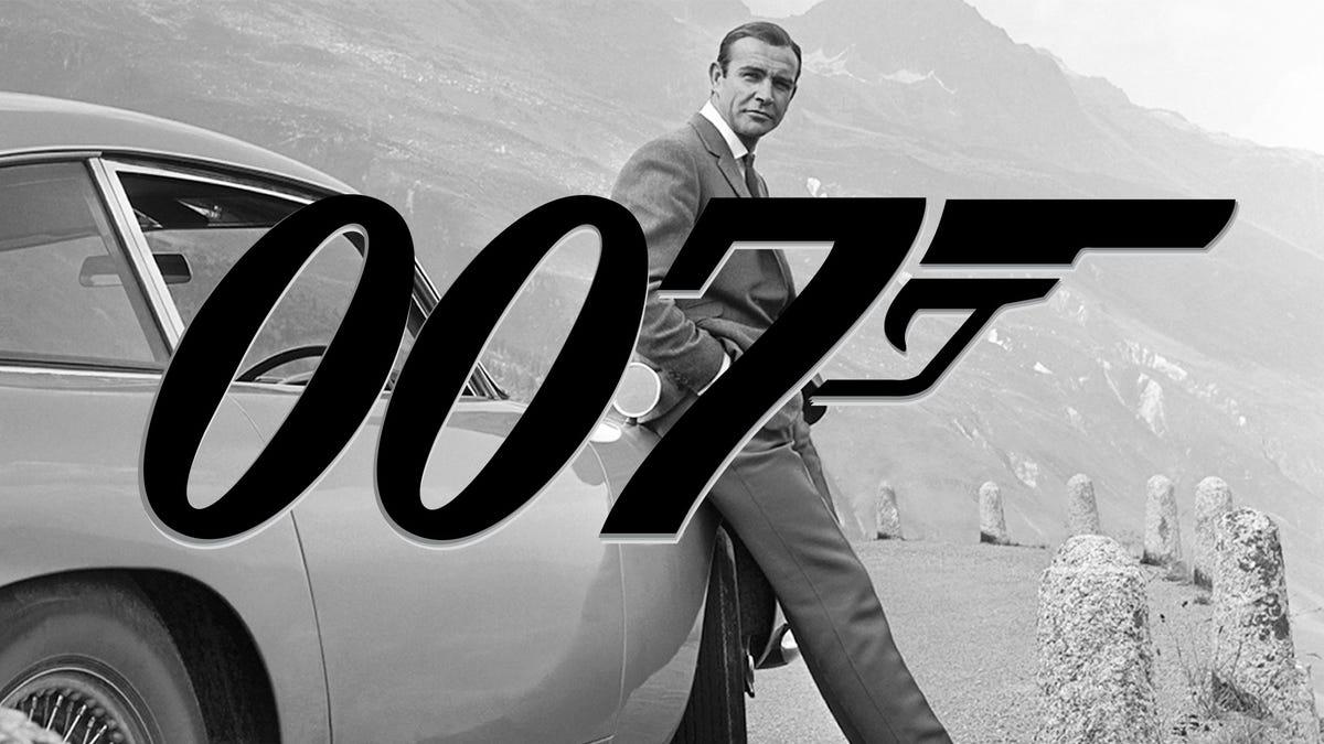Sean connery james bond logo